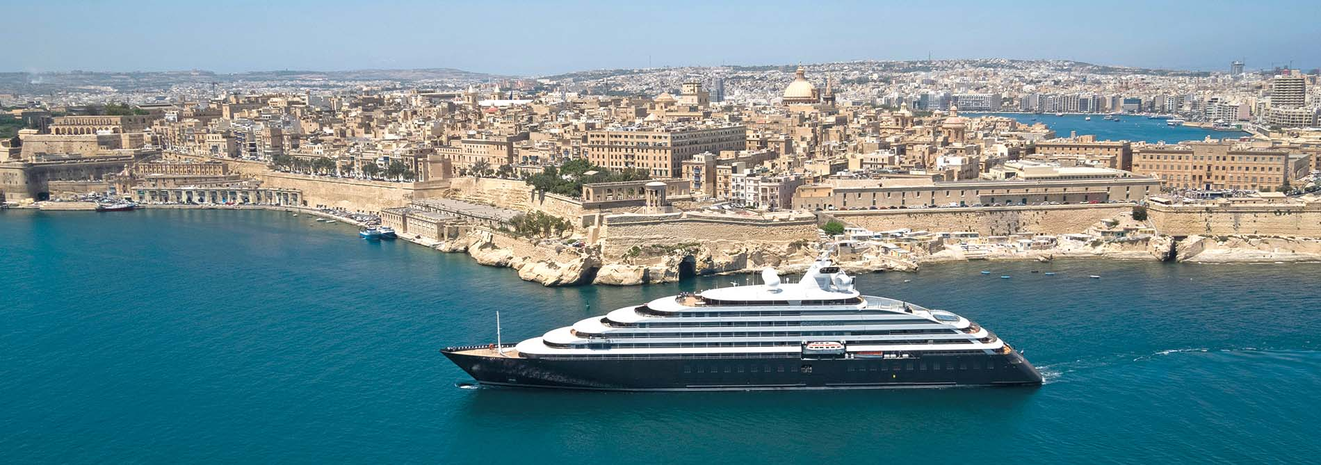 Scenic Eclipse in Valetta, Malta